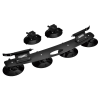Rassine Portabicicletas B6 para coche con ventosas (válido para 2 bicicletas)